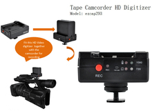 Tape Camcorder HD Digitizer,Fit with Tape Camcorder Record Recording HD Digital Video into Micro SD Card,with HDMI Pass Through