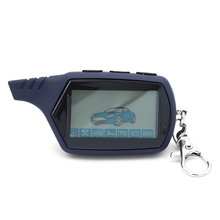 10PCS Starline A91 keychain 2-way LCD Remote Control Keychain For Russian Vehicle Security