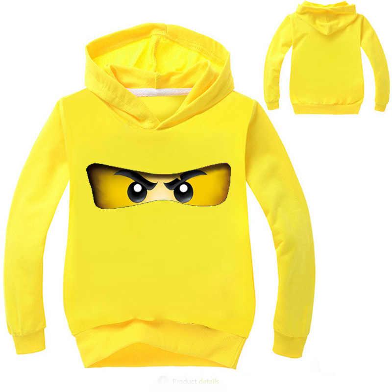 cc35d98f ... 2018 Ninja Ninjago Clothes Boys Hoodies Cartoon Kids Costumes Children  T shirts Girls Sweatshirts Boys Outwear ...
