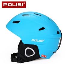 POLISI Professional Men Women Ski Snow Helmet Ultralight Snowboard Skate Skiing Helmet Capacete Extreme Sport Protective Gear