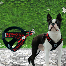 No-pull Sport Reflective Dog Harness For Small Medium Large Pitbull Bulldog Outdoor Training Walking Safety Vest