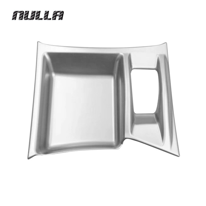 NULLA ABS For Nissan Xtrail X-Trail X Trail Rogue T32 2017 Electronic Handbrake Cover Frame Trim Interior Accessories Styling abs chrome door stereo speaker ring cover fit for x trail rogue xtrail t32 2014 2015 speaker decoration trim accessories