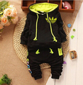 New Baby Clothes Set 2017 Newborn Spring Autumn Baby's Set boys Twinse Sport Suits hoodies pant Children Clothing Girls clothes