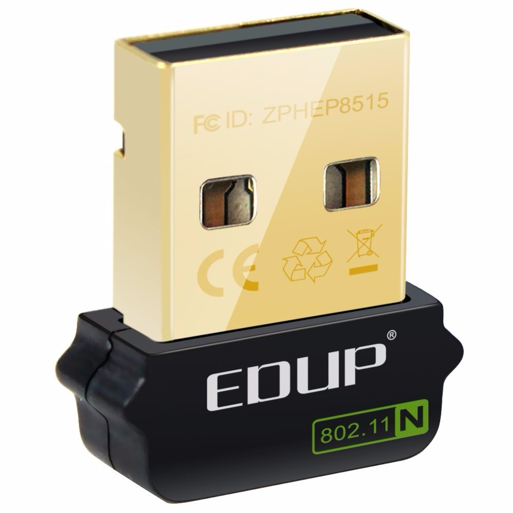 EDUP PC USB Network Card Usb Ethernet Adapter 802.11n For Raspberry Pi WiFi Receiver 150Mbps Wireless USB WiFi Adapter