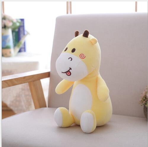 WYZHY New Year Gift Mascot Down Cotton Cute Fawn Doll Plush Toys Send Friends Children Birthday Gifts 20CM in Stuffed Plush Animals from Toys Hobbies