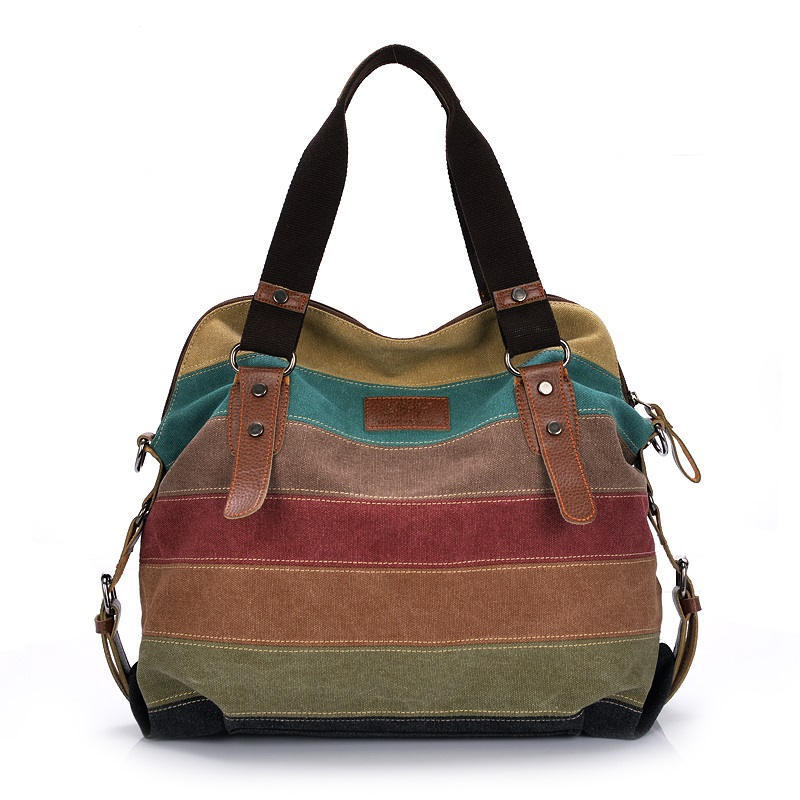 მოდის ტილო მესინჯერის ჩანთები ქალის დიზაინერი ჩანთები მაღალი ხარისხის მხრის ჩანთები Bolsa Femininas ქალი Tote Crossbody Bags