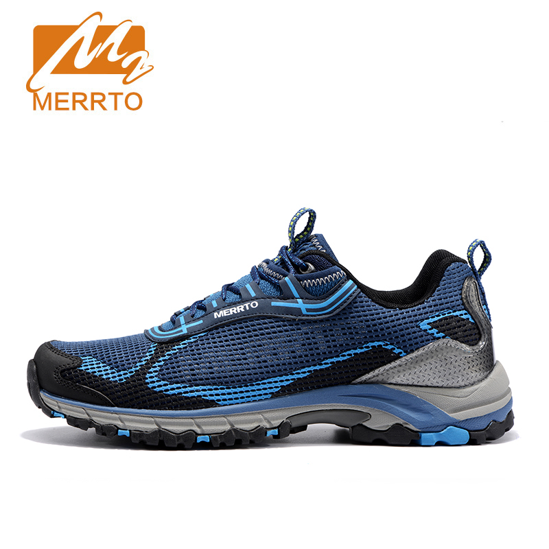 MERRTO Men Running Sneaker Outdoor Running Shoes Breathable Sneakers For Men Trail Running Shoes Men Trainers Athletic Shoes peak sport speed eagle v men basketball shoes cushion 3 revolve tech sneakers breathable damping wear athletic boots eur 40 50