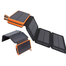 KERNUAP 8W Solar battery sunpower 20000mah universal Portable Mobile Phone power bank Charger Outdoor Emergency External Battery