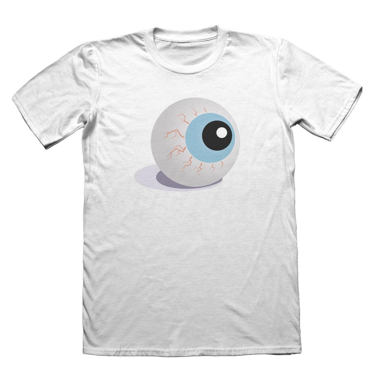 Eye Halloween T-Shirt - Mens Fathers Day Christmas Gift #7205
