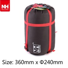 Lightweight Outdoor Sleeping Bag Pack Compression Stuff Sack Storage Carry Bag For Camping Hiking