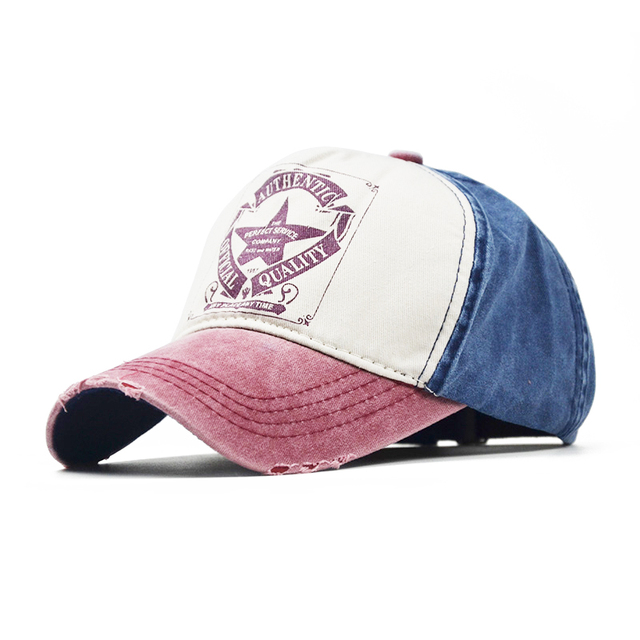 32d0daf699937 ... switzerland man woman baseball hats new brand washed old holes caps  casual fitted hat snapback hat
