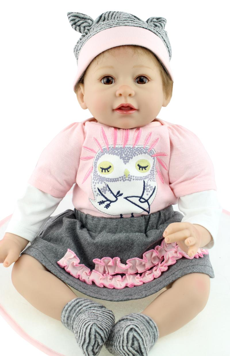 Popular New 22 Inch Npk Reborn Babies Doll Realistic Real