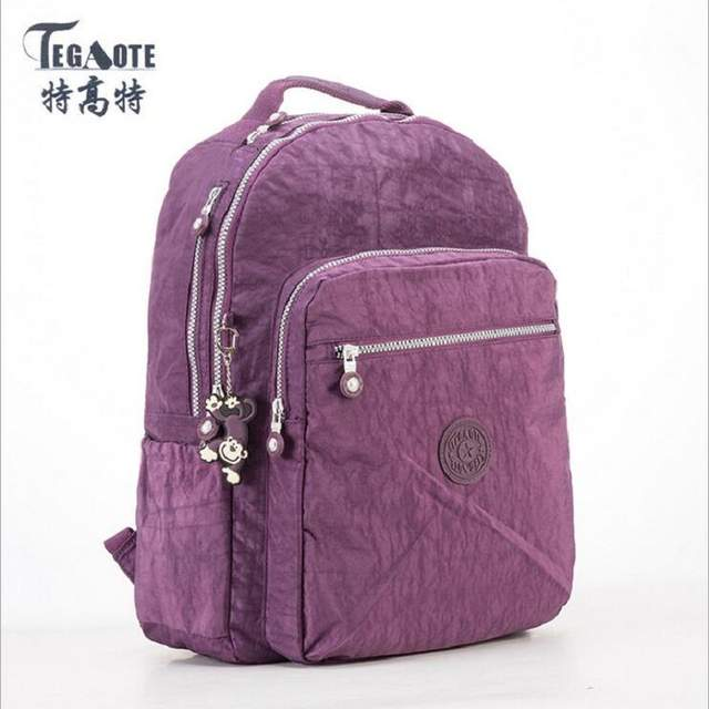 Online Shop Women Backpack Girls Kipled Nylon Backpacks preppy style  backpack Mochila Feminina Female Travel Schoolbag Large capacity bag  9f48c983a4bcd