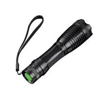 Zoomable Led flashlight CREE XML T6 5 Modes LED Torch Focus LED Torch Tactical LED Lamp