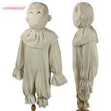 Cosplay  Miss Peregrine's Home for Peculiar Children Costume Cosplay Twins Scary Coverall Kids Custome Halloween Party Prop miss peregrine s home for peculiar children