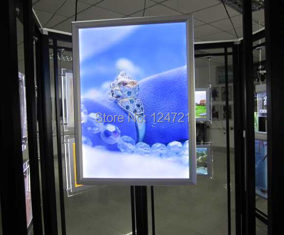 400mmx600mm Advertising Outdoor Slim Light Box Led Signage