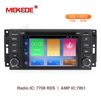 Mekede android 9.1 Car multimedia Player Navigation GPS DVD for Jeep Cherokee 2009 2008 2010 Wrangler with wifi bluetooth radio