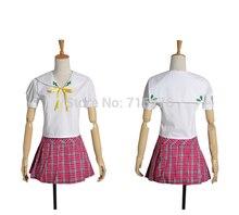 Kisstyle fashion anime hentai prince y el gato de piedra azusa azuki paño cosplay uniforme, cualquier tamaño (sin Alas)