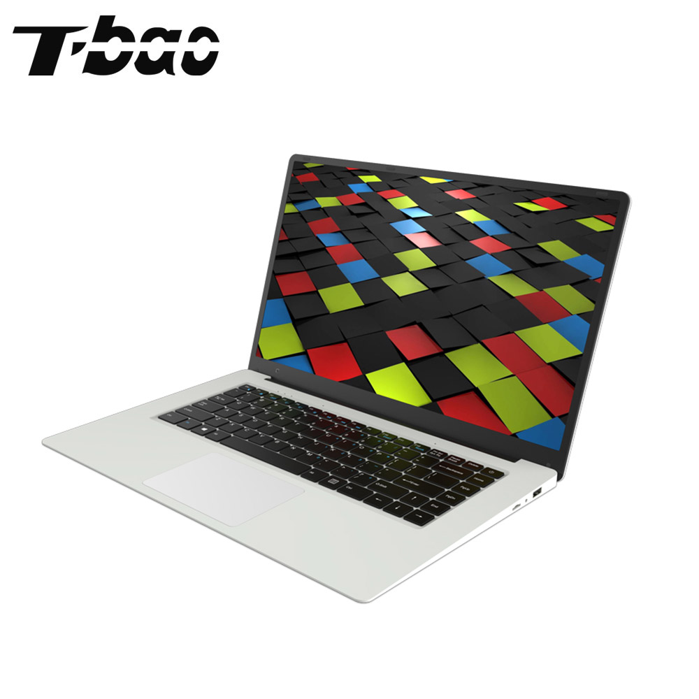 T-bao Tbook X8S 15.6 inch Windows 10 Laptops Intel Celeron N3450 1.1GHz Quad Core 6GB RAM DDR4 64GB ROM IPS Computer Notebook