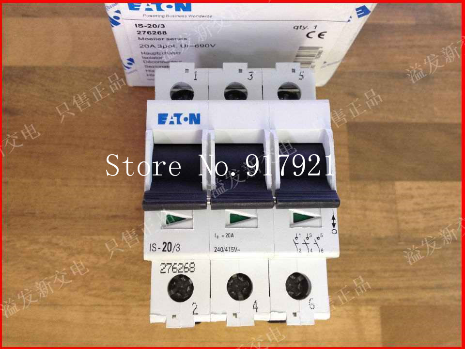 [ZOB] EATON Eaton IS-20/3 3P20A import switch load switch disconnector safety switch --2PCS/LOT алекс бертран громов ольга чехова тайная роль кинозвезды гитлера