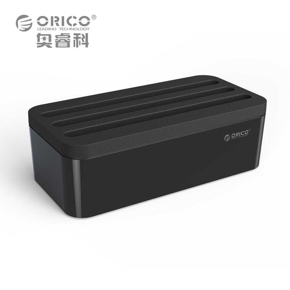 Цена за ORICO PB1028 кабель управления электрической розетки, коробки для Мощность полосы Multi-Зарядное устройство провод организации завязки шнура Организатор клипы