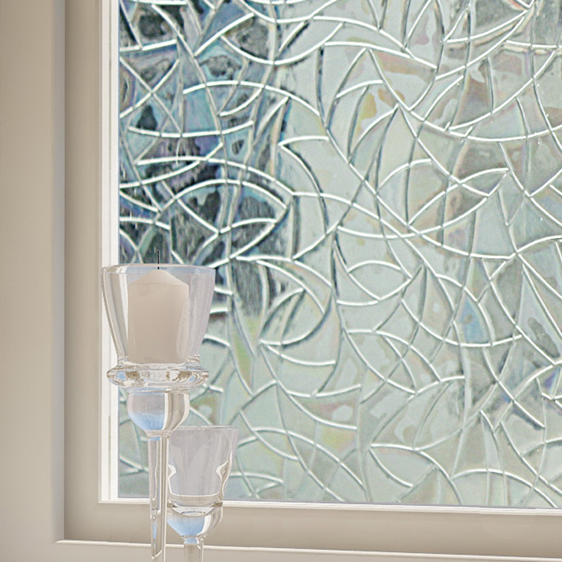 Multi Size Excellent 3d Laser Static Cling Window Film