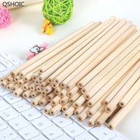 100pcs/set Wholesale Standard Pencil HB Non toxic Standard Pencil QSHOIC stationery Wholesale Wood Pencils for School