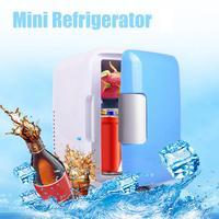12V 4L Car Refrigerator mini Warm Cool Vehicle Refrigerator Auto Freezer Fridge drop shipping jun19