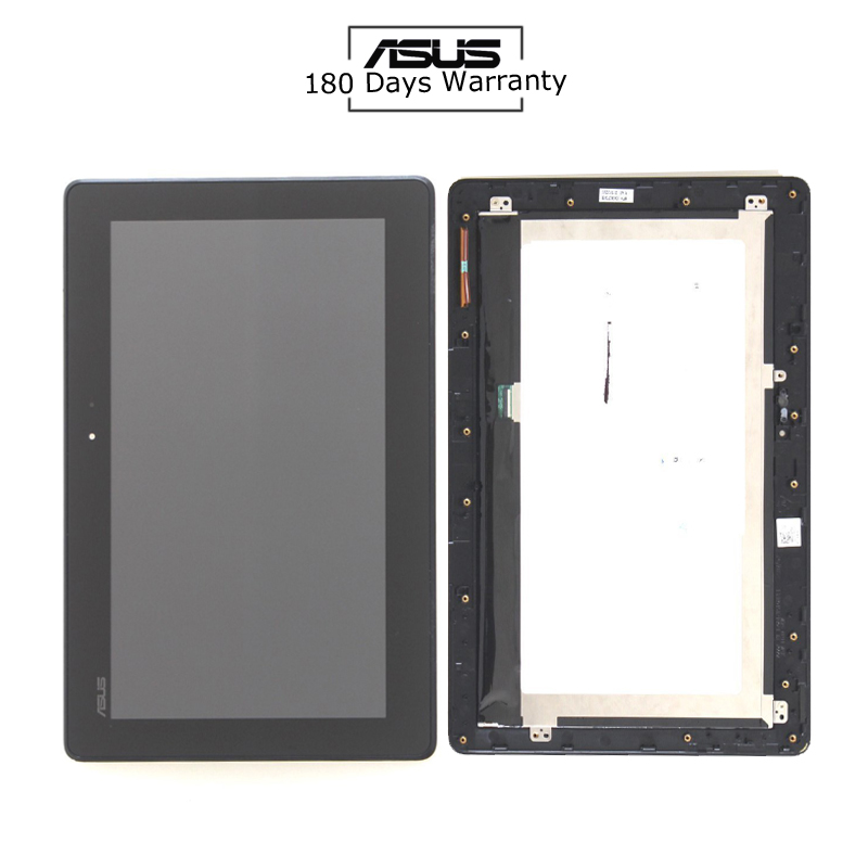 For ASUS Transformer Book T100 T100TA-C1-GR T100T 5490NB LCD Display Touch Screen Panel Assembly +Frame FP-TPAY10104A-02X-H 10 1 inch lcd display touch screen panel digitizer frame assembly for asus transformer book t100h t100ha fp st101si010akf 01x