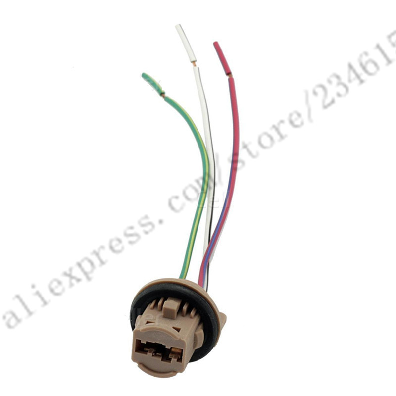 60pcs 7440 7443 T20 LED Lead Stereo Radio Wiring Harness Connector Socket Adaptor Brake Light Cable 60pcs 7440 7443 t20 led lead stereo radio wiring harness connector Wiring Harness Diagram at soozxer.org