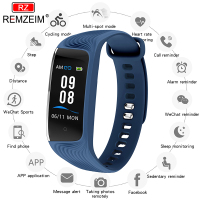 REMZEIM Smart Watch Big Color Screen Call Blood Pressure Heart Rate Monitor Health Fitness Watch Tracker Sport Smart Wristband