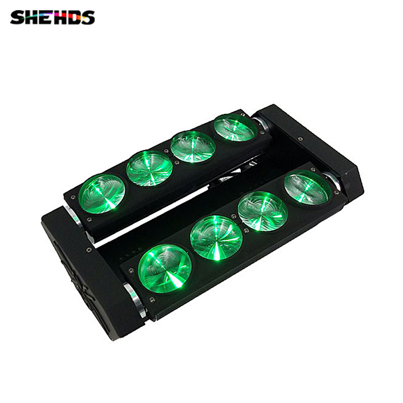8x10W 4in1 Cree LED spider light Led Moving Head Beam Wash Spot Light Dj Disco Club Party Wedding Stage Effect... 9 moving head laser spider light green color 50mw 9 triangle spider moving head light laser dj light disco club event