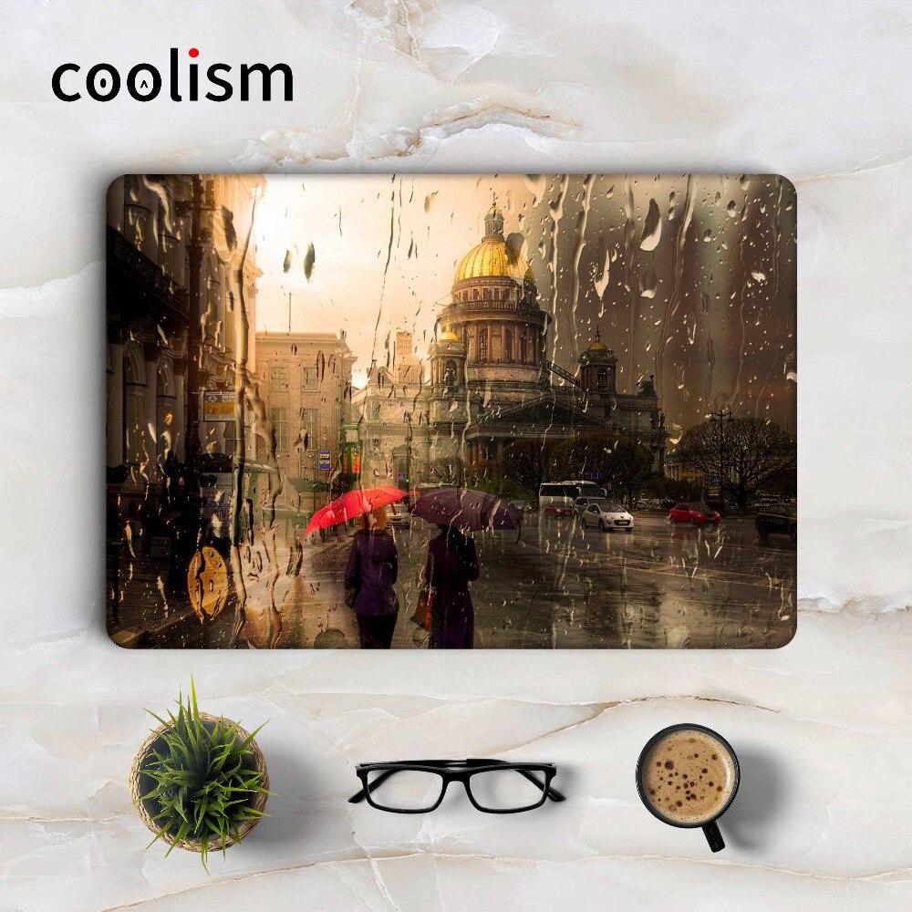 Rain Glass Laptop Skin Sticker Decal for Apple Macbook Sticker Pro Air Retina 11 12 13 15 inch Mac Protective Full Cover Skin