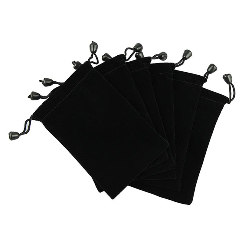 Packing Oganizers Travel Accessories Voberry 6 Pouches Black Velvet Drawstring Jewelry Bags A new set of 6 black bags