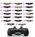 10 ШТ. Для Call of Duty Черепа Издание Красочные Наклейки Для Sony Playstation 4 PS4 Контроллера Светодиодные Панели Наклейка ПВХ стикер