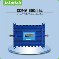 High Gain 2G CDMA 850mhz Cell Phone Signal Repeater CDMA Booster With LCD DIsplay