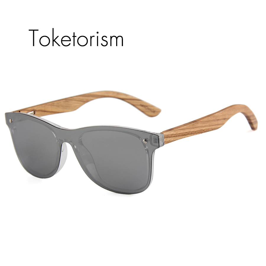 Wooden One Men Modis Polarized Toketorism Piece Lens Sunglasses UpSzMV