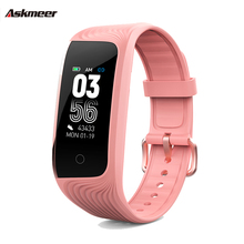 ASKMEER S4 Smart Wristband Color Screen Touchscreen smart bracelet Sport Tracker watch heart rate monitor band