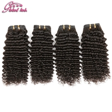 gluna Beauty Hair indian remy curly hair extension virgin indian deep curly hair weave 4bundles curly hair halloween costumes