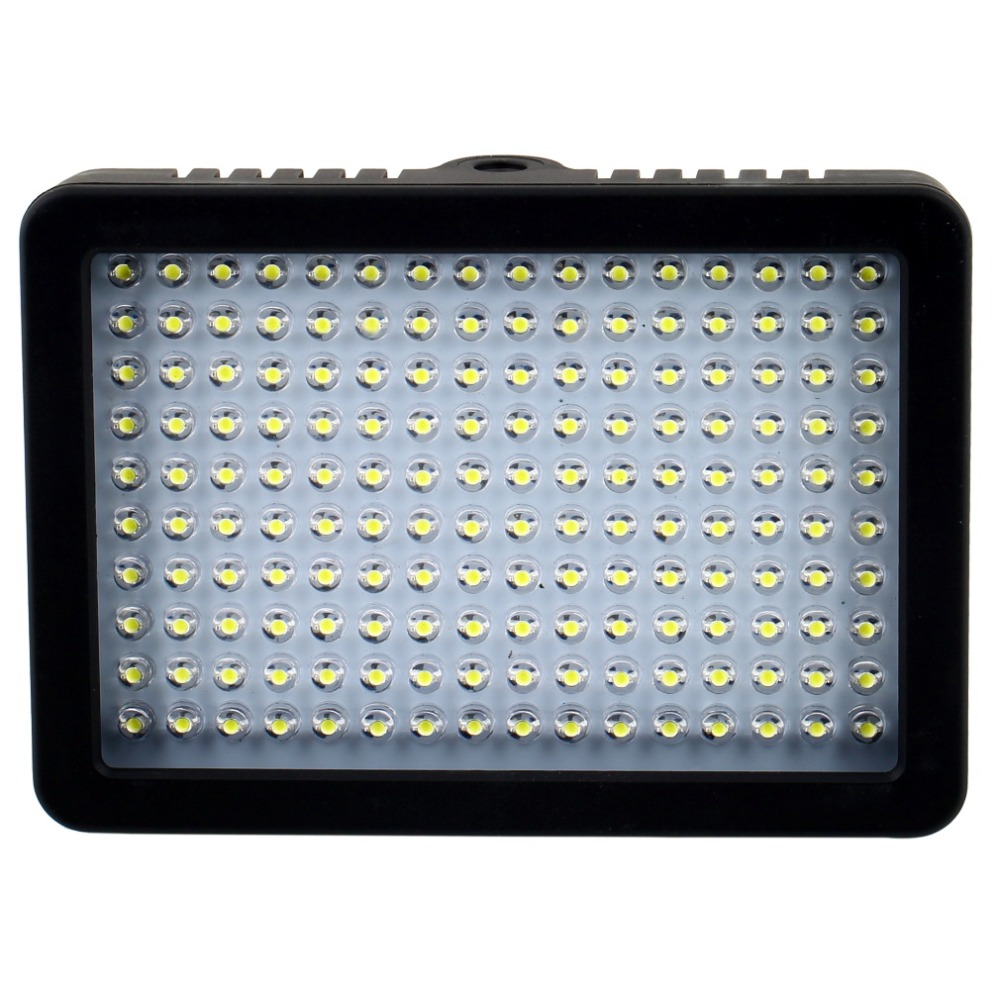 10.5W 1280LM 5600K/3200K Camera HD 160 LED Video Light Lamp Dimmable for Canon Nikon Pentax DSLR Camera Video Camcorder wansen w160led 12w 1280lm 5600k 3200k 160 led camera video light for canon nikon sony
