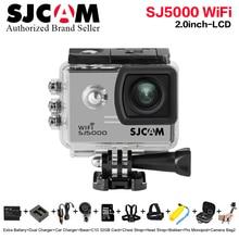New Bundle Action Camera 100% Original SJCAM SJ5000 Wifi  30M extreme sport 2.0′ Screen 1080p HD Better go waterproof pro cam