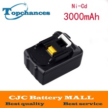 High capacity 18V 3000Ah Li Ion Replacement Power Tool Battery for Makita 18V 194205 3 194309