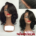 Cheap Sale Short Wave Bob Wigs Synthetic Lace Front Wigs Side Part Glueless Heat Resistant Hair Wigs Fast Shipping