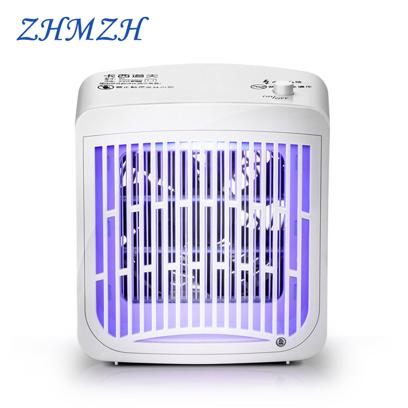 LED Electric Shock Mosquito Killer Lamp 220V Flea Insect Mosquitos Repellent 3.2W Anti Mosquito Trap Lights UVA Zapper Indoor