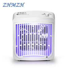 LED Electric Shock Mosquito Lamp 220V Insect Repellent 3.2W Trap Killer Electronic UVA Portable