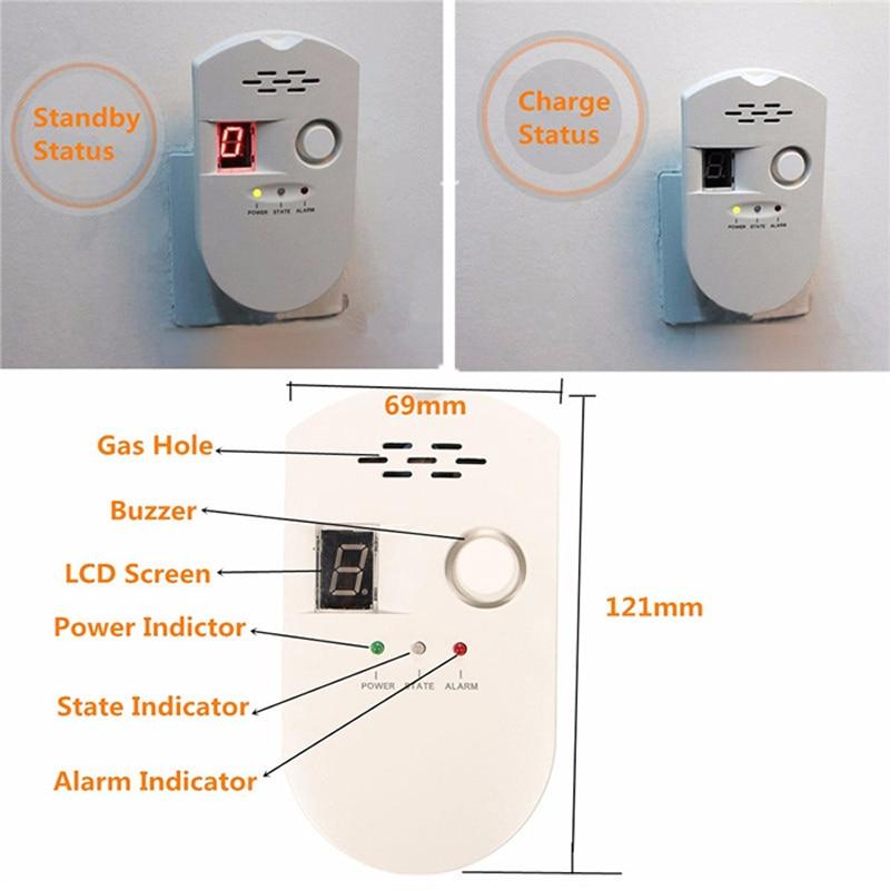 Wholesale Gas Leak Detector Alarm Monitor,Icarekit,High Sensitivity LPG LNG Coal Gas Leak Detector Alarm Monitor Alarm Sensor