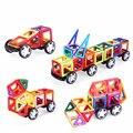 ¡ Caliente! 56 unids/set diseñador magnético bloques de construcción de modelos y juguetes de construcción de plástico diy ladrillos niños aprendizaje y juguetes educativos
