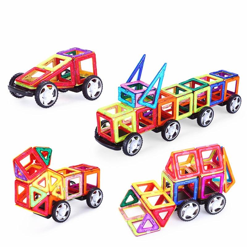 Hot! 56Pcs/Set Magnetic Designer Building Blocks Models & Building Toy Plastic DIY Bricks Children Learning & Educational Toys все цены