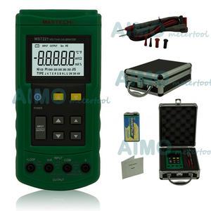 Mastech DC 0-24ma-Tester Current-Calibrator Meter 0-10V MS7221 Thermocouple-Simulator