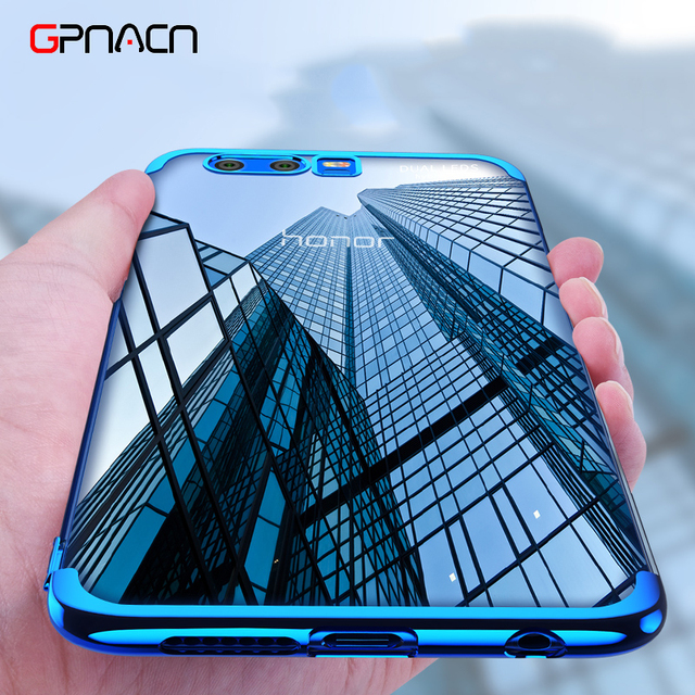 Silicone Soft TPU Transparent Case For Huawei P10 P10 Plus Mate9 Mate10 Ultra Slim Cover Cases